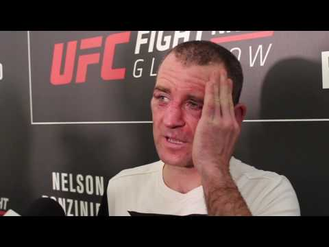 Post-Fight Interview with Neil Seery at UFC Glasgow