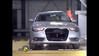 Краш-тест Ауди А6 2012   Crash-test Audi A6 2012