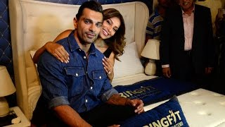 Karan Singh Grover & Bipasha Basu launches Springfit Mattresses collection