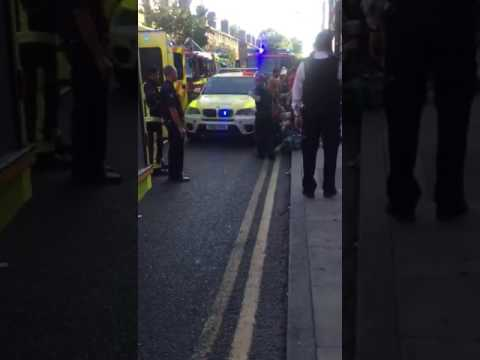 Another acid attack in East London today