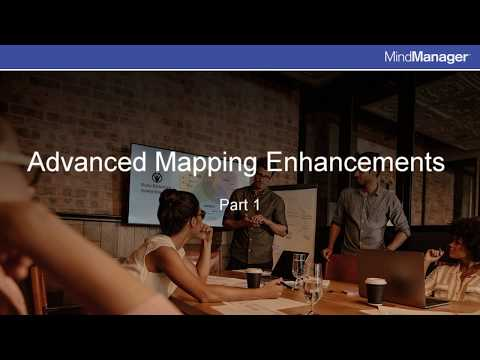 MindManager 11 For Mac: Advanced Mapping Enhancements - Part 1 Of 2