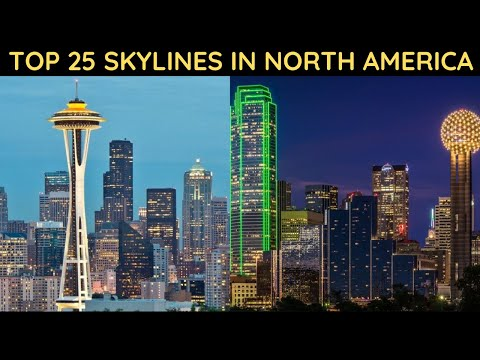 Top 25 Skylines In North America