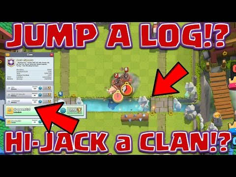 Clash Royale - *TAKE* LEADER of *ANY* CLAN  (Cool tricks tested)