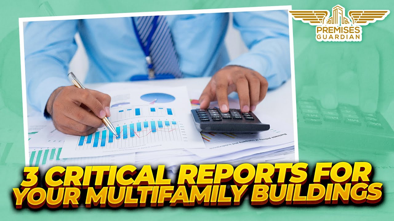 Most important reports for multifamily properties: Rent roll, collections report and expense report.