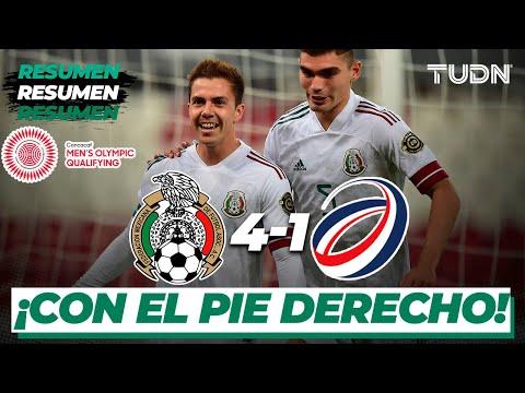 Resumen y goles | México 4-1 Rep Dominicana | Preolímpico Tokyo 2020 | TUDN
