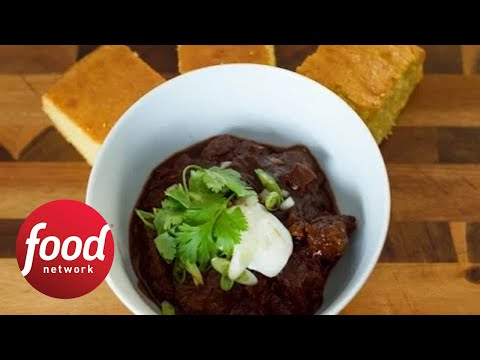 Texas style chocolate stout chili food network youtube texas style chocolate stout chili food network forumfinder Image collections