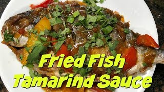 How to Make Fried Fish Tamarind Sauce