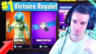 "NEW SHOP! SKIN ""LÉVIATHAN"" LEGEND - SPATIAL SONDE ON FORTNITE BATTLE ROYALE 😱"