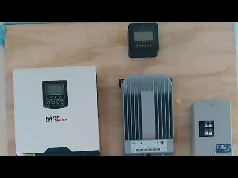 OFF GRID LIVING - Getting Close to Lunch My Off Grid Solar Powered System