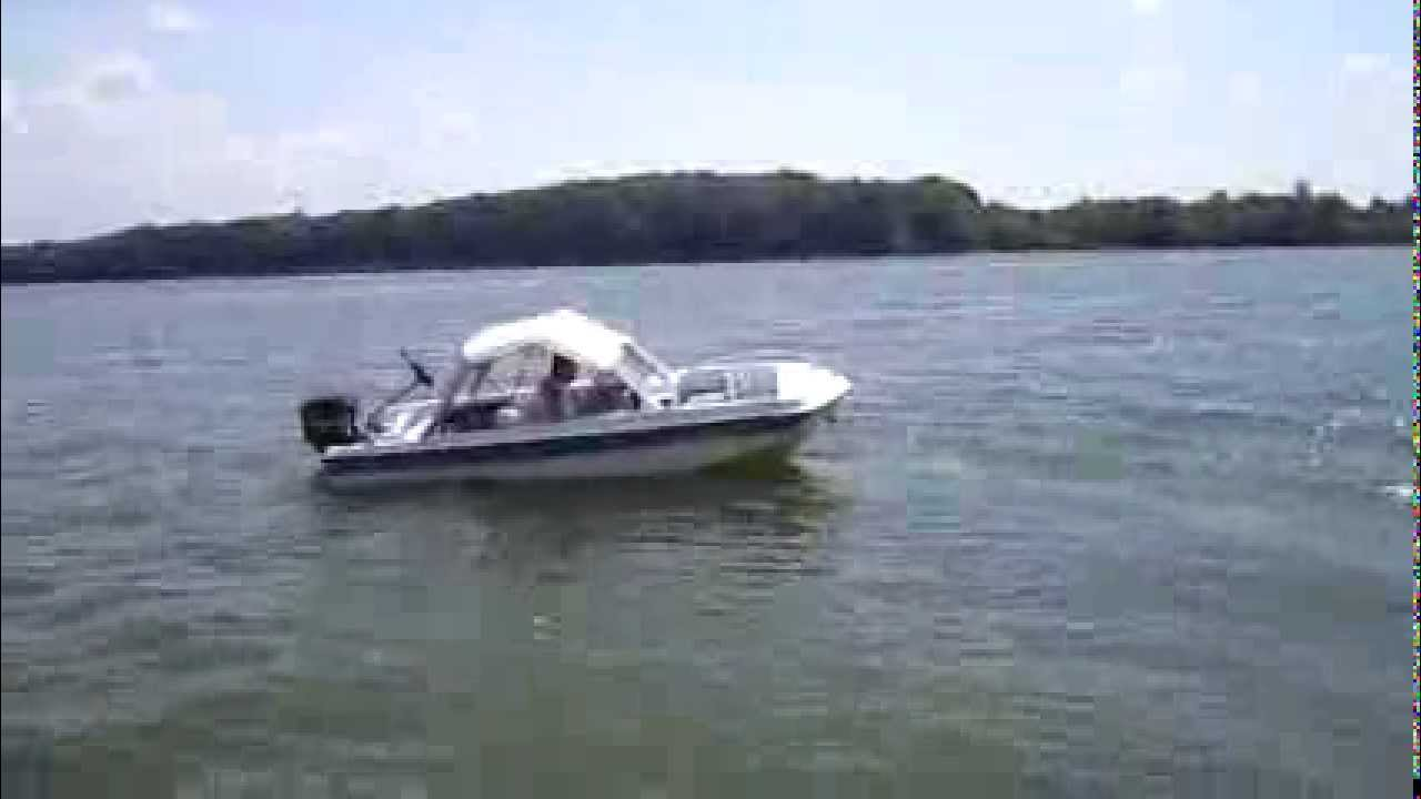1982 ebbtide with 65 horse power mercury youtube Lowe Pontoon Boat Wiring Diagram