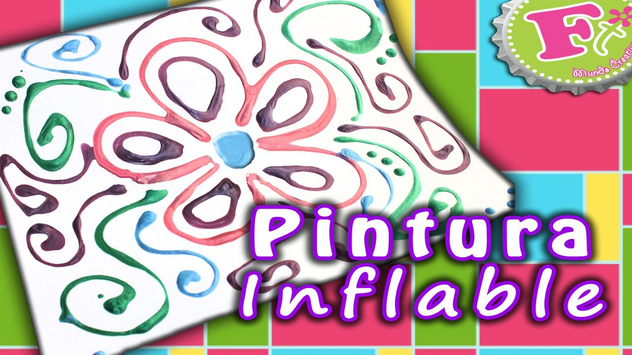 Diy pintura inflable casera puffy paint youtube - Como hacer cuadros caseros ...