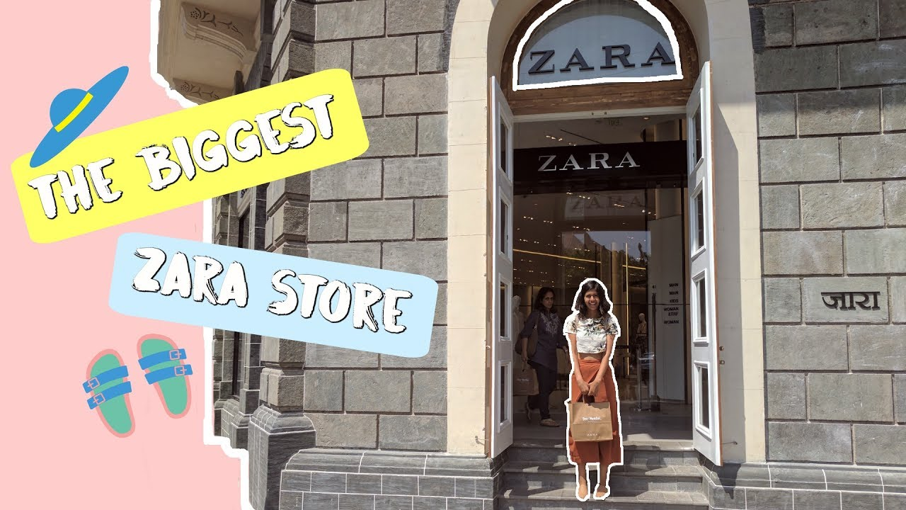 The Biggest Zara Store! | Sejal Kumar