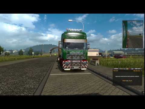 Euro Truck Simulator 2 Industrial Cable Rolls Kosice (SK) to Zurich (CH) Part 2