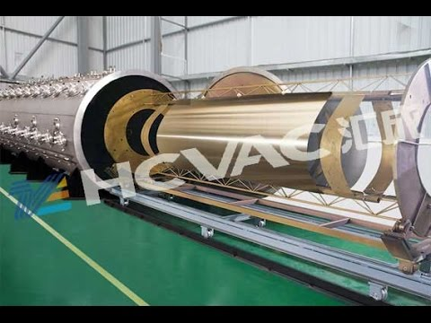 pvd vacuum coating machine for stainless steel sheet and plate