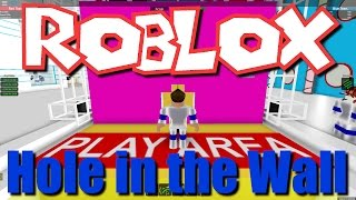 Team SBG Plays Roblox: Hole in the Wall! (Family Multiplayer)