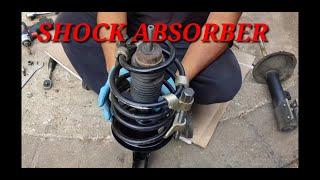 Peugeot 307 Front Shock Absorber Removal