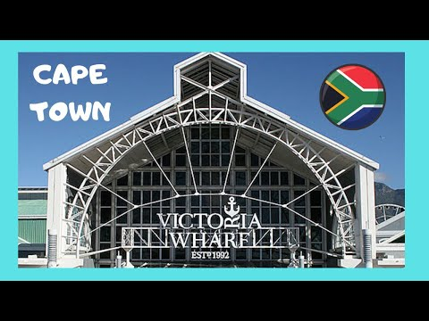 CAPE TOWN, the beautiful V&A SHOPPING CENTRE (SOUTH AFRICA)
