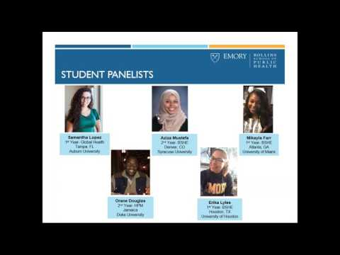 Student Life @RSPH Webinar: Students Of Color Perspective