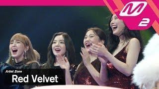 (미공개) [2017MAMA x M2] 레드벨벳 Reaction to 슈퍼주니어's Performance