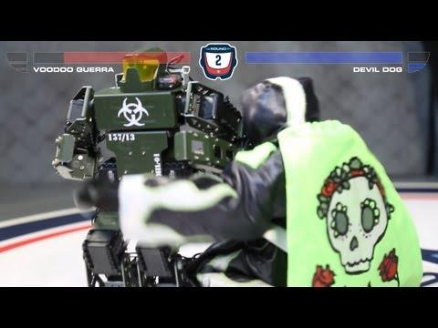 Supa Robot Attack - Voodoo Guerra Vs Devil Dog