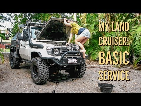 My Landcruiser Part 2: Basic Servicing