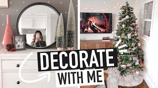 DECORATE FOR CHRISTMAS WITH ME 2019 | christmas decor ideas + tips