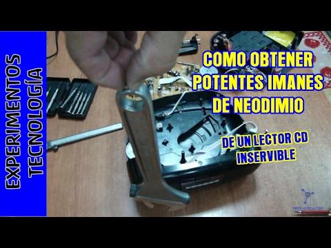 e0d1510e98c Imanes de neodimio gratis de un reproductor CD que no funciona. Free  neodymium magnets