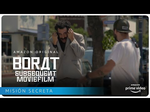 Borat Subsequent Moviefilm - Misión secreta | Amazon Prime Video sacha baron cohen