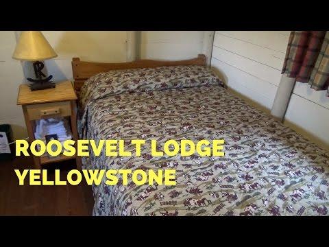 Roosevelt Lodge   Roughrider Cabin   Yellowstone