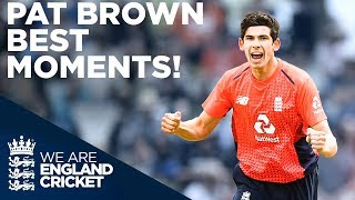 England's Newest Death Bowler - Pat Brown | Best Moments so far... | Vitality Blast