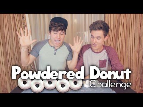 Powdered Donut Challenge