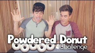 Powdered Donut Challenge Thumbnail