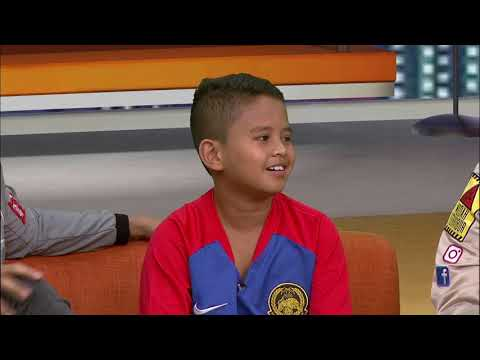 MOTIF VIRAL: Adik Menangis Tak Dapat TIket, Jumpa Players Malaysia!
