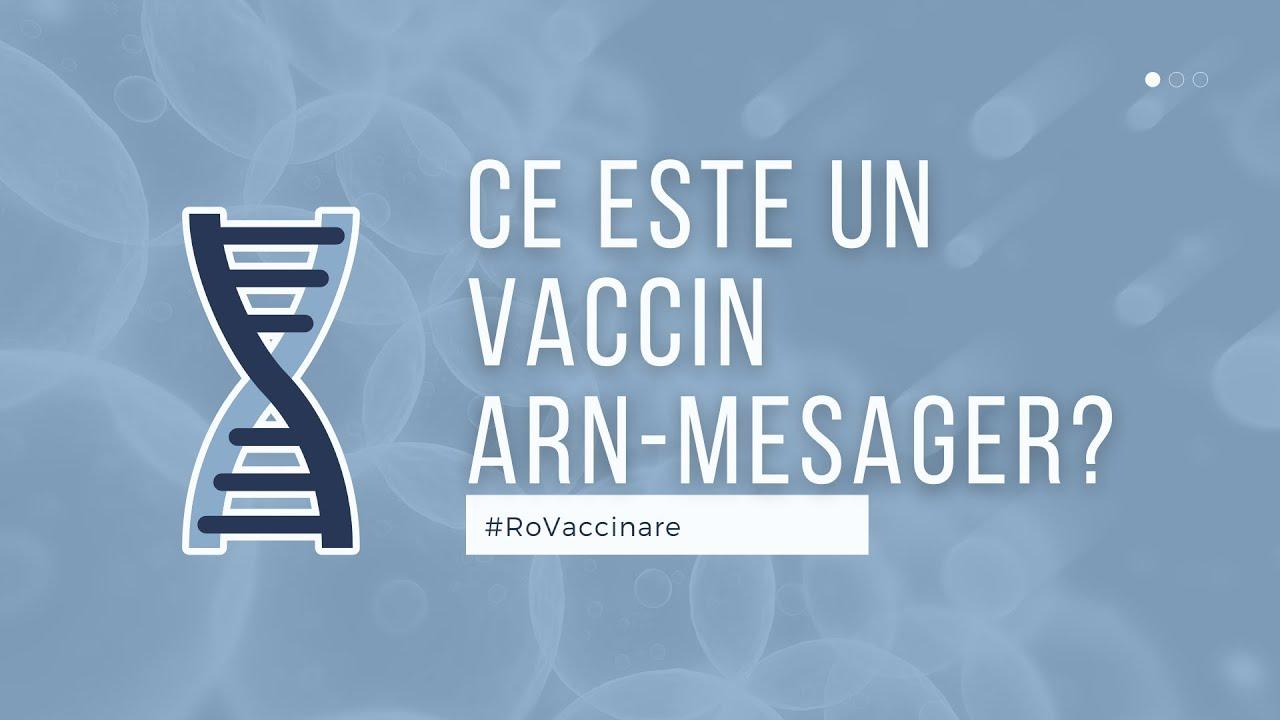 RoVaccinare | Ce este un vaccin ARN-Mesager?