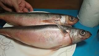 """СУПЕР РЫБКА """"КРАСНОГЛАЗКА"""" +мой способ чистки рыбки."""