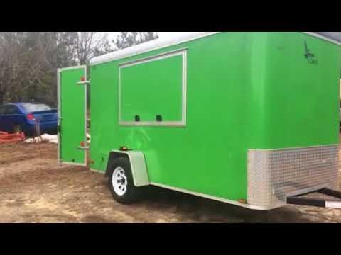 6x12 Cargo Trailer Camper Conversion