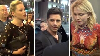 Elizabeth Banks, John Stamos, And Courtney Love Attending 'Hedwig And The Angry Inch' Musical