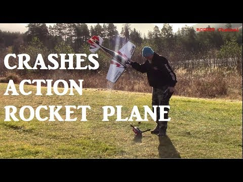 Real RC action - Crashes - Bloody finger - Men and hot dogs - Rockets on plane