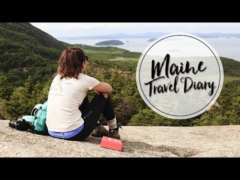 MAINE ROAD TRIP | TRAVEL DIARY