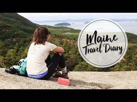 MAINE ROAD TRIP | TRAVEL DIARY