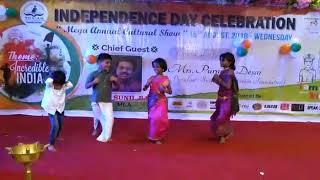Telugu folk dance by Mahaniya Jogu