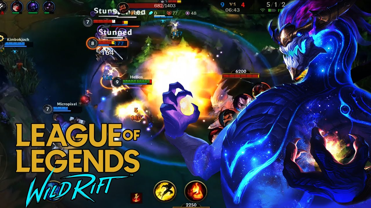 League Of Legends Wild Rift Test Server