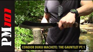 Condor Mini Duku Parang/Machete: The Gauntlet #1  - Preparedmind101