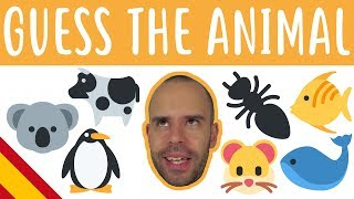 Guess The Animal 2 - Superbeginner Spanish - Let's Play Games #11