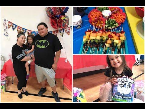 EMMA'S 6TH BIRTHDAY PARTY!   DC SUPER HERO GIRLS
