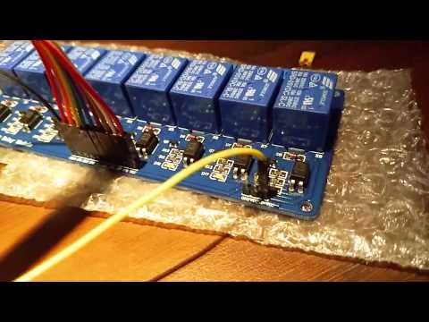 controlling 8 channel relay  by Alexa (step by step tutorial )