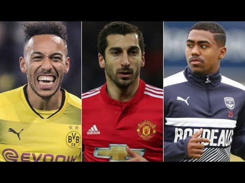 Aubameyang, Mkhitaryan & Malcolm, The Dortmund Connection!   AFTV Transfer Daily