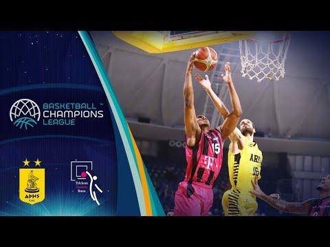 Aris v Telekom Baskets Bonn - Full Game - Basketball Champions League