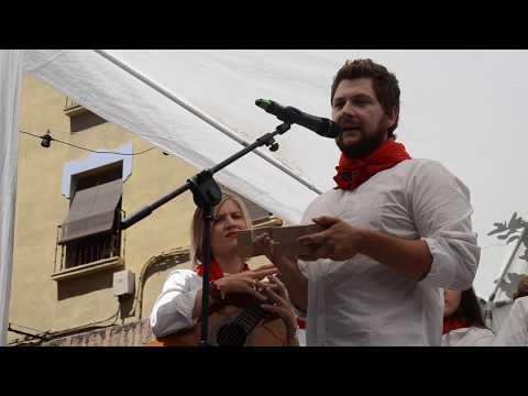 Mikel Arilla recibe el Quiosco de Oro de la Peña Revolvedera