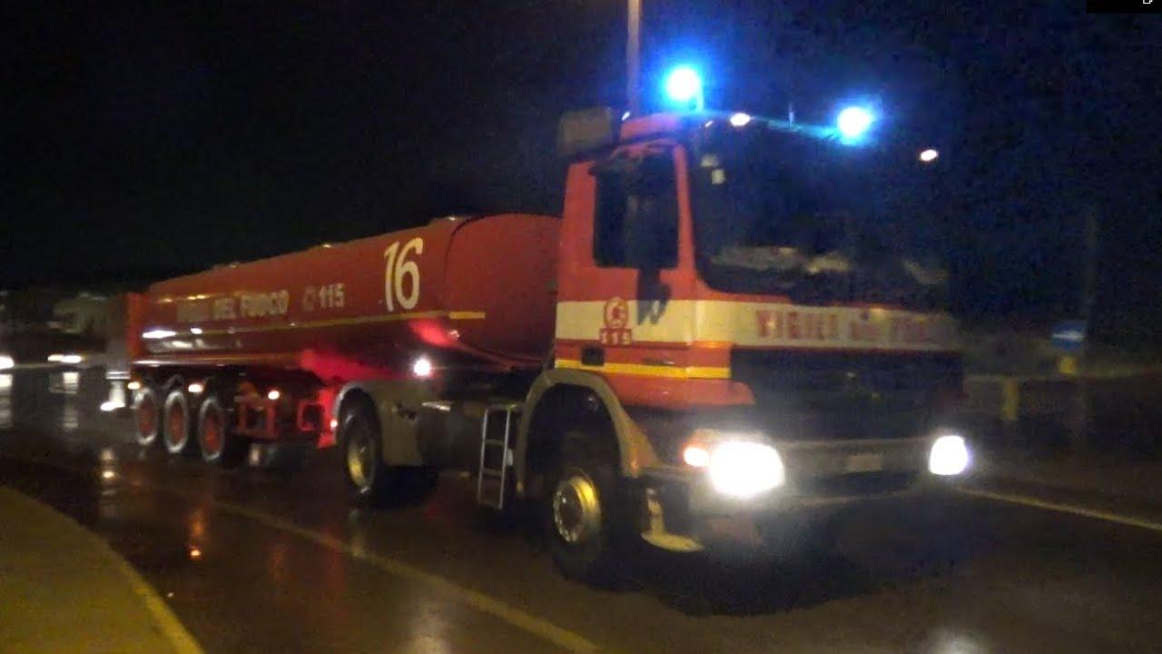 [25.000 L] ATT Actros + RI/KILOLITRICA Vigili del Fuoco Rimini in emergenza
